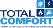 Total Comfort Heating and Air Logo
